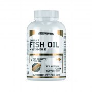 King Protein Fish Oil + Vitamin E 90 капс