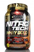 Muscletech NitroTech Whey Gold 1130 гр