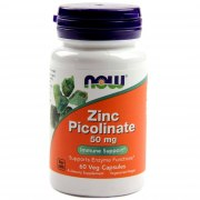 NOW Zinc Picolinate 50 мг 60 капс